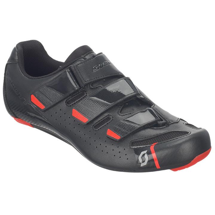 SCOTT Road Comp zwart-rood raceschoenen, voor heren, Maat 46, Racefiets schoenen