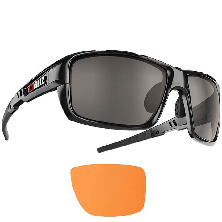 BLIZ Brillenset Tracker Ozon bril, Unisex (dames / heren), Sportbril, Fietsacces