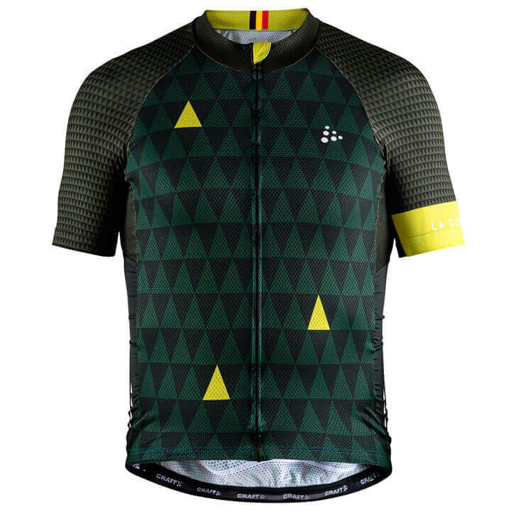 Craft MONUMENTS LBL La Doyenne 2018 fietsshirt met korte mouwen fietsshirt met k