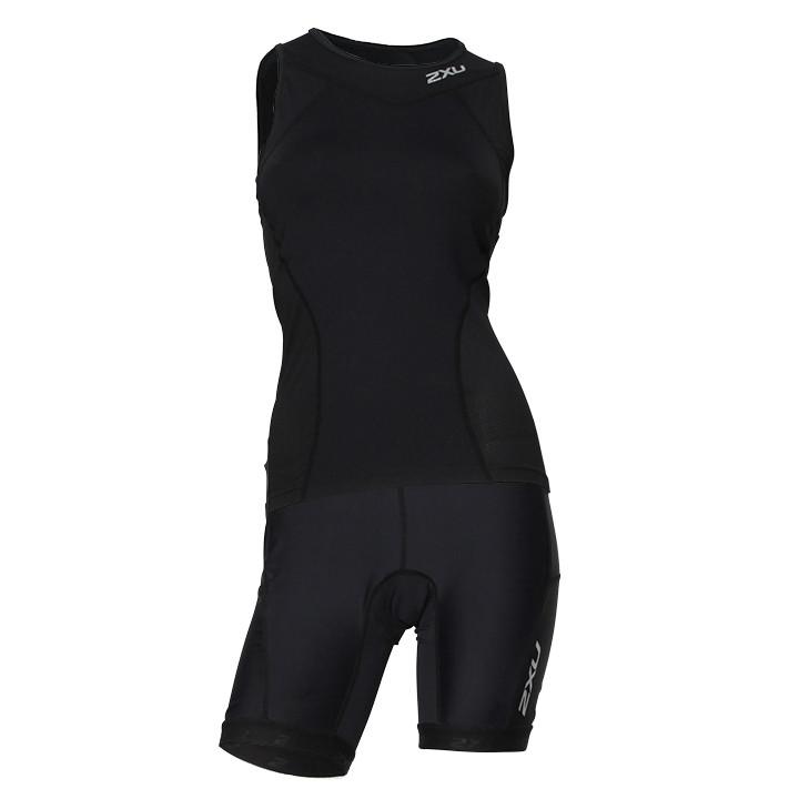 2XU Tri Active Dames set (fietsshirt + fietsbroek) dames set (2