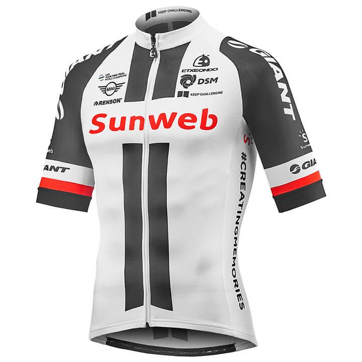 TEAM SUNWEB Race 2018 Kurzarmtrikot, für Herren...