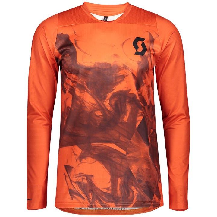 SCOTT Bikeshirt lange mouwen Trail Progressive bikeshirt, voor heren, Maat M, Fi