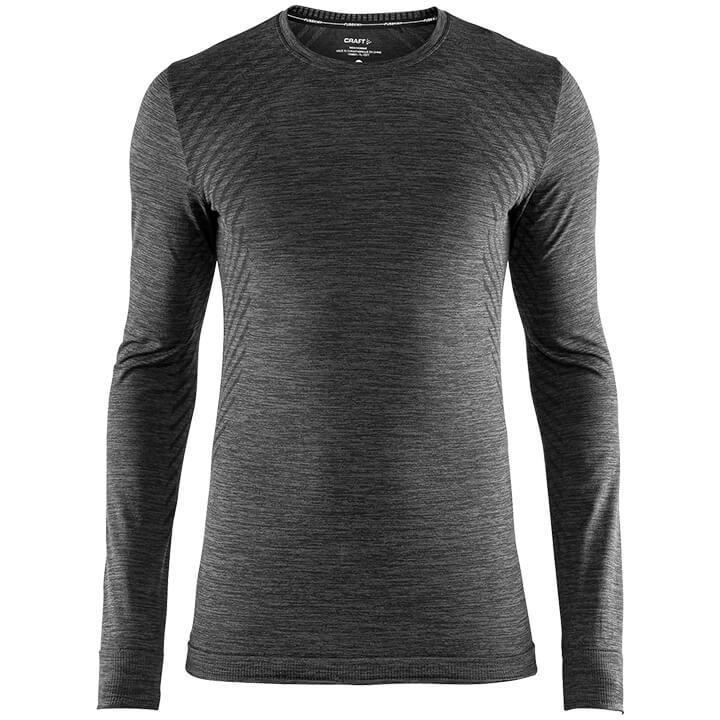 CRAFT Fietsmet lange mouwen Fuseknit Comfort onderhemd, voor heren, Maat M, Onde