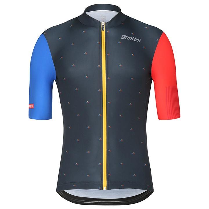 La Vuelta Andorra 2018 fietsshirt met korte mouwen fietsshirt met korte mouwen,