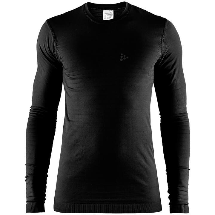 CRAFT Fietsmet lange mouwen Warm Comfort onderhemd, voor heren, Maat L,