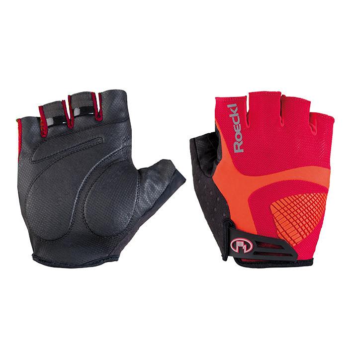 ROECKL Inverness rood handschoenen, voor heren, Maat 7, Fietshandschoenen, Wielr
