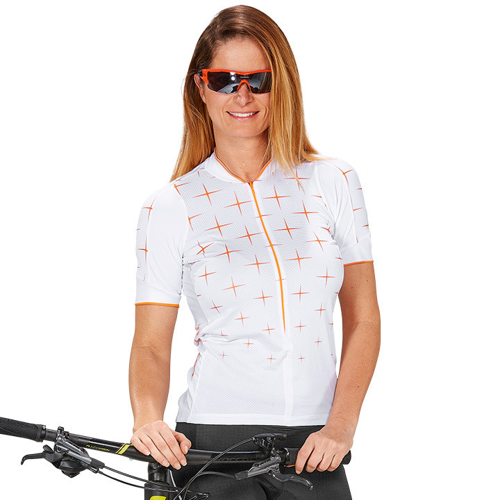 CRAFT damesshirt Glow damesfietsshirt, Maat M, Wielershirt,