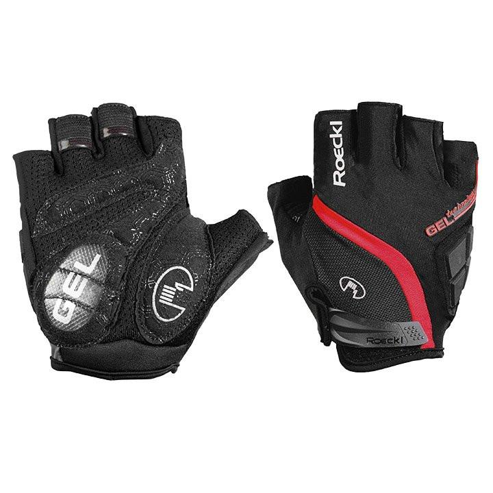ROECKL Ionadi, zwart-rood handschoenen, voor heren, Maat 7, Fietshandschoenen, W