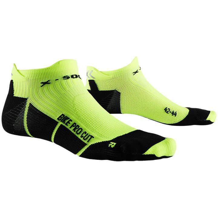 X-SOCKS Fietssokken Bike Pro Cut fietssokken, voor heren, Maat L, Wielerkleding