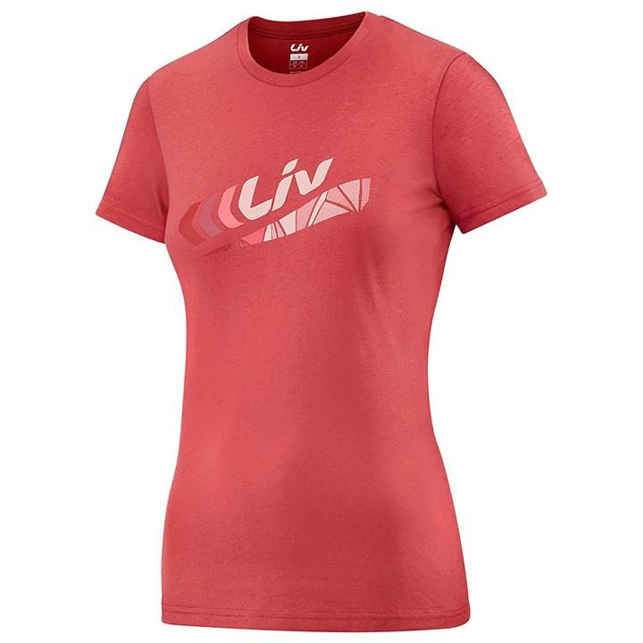 LIV Dames T-shirt Brand, Maat S, MTB shirt, Mountainbike kleding
