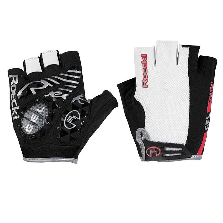 ROECKL Itu wit handschoenen, voor heren, Maat 9,5, Wielerhandschoenen, Fietskled