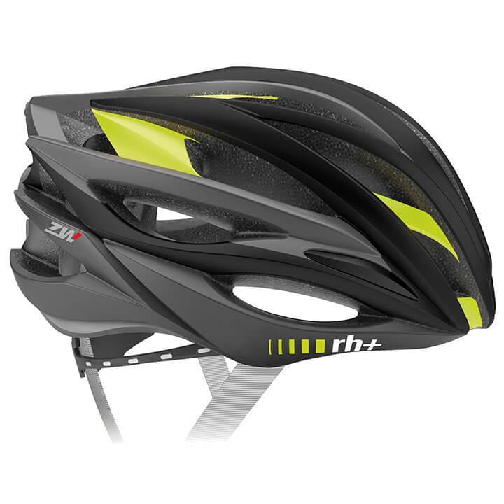 rh+ RaceZW fietshelm, Unisex (dames / heren), Maat L-XL