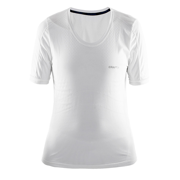CRAFT dames fietsondershirt Cool seamless wit dames onderhemd, Maat XS-S, Onderh