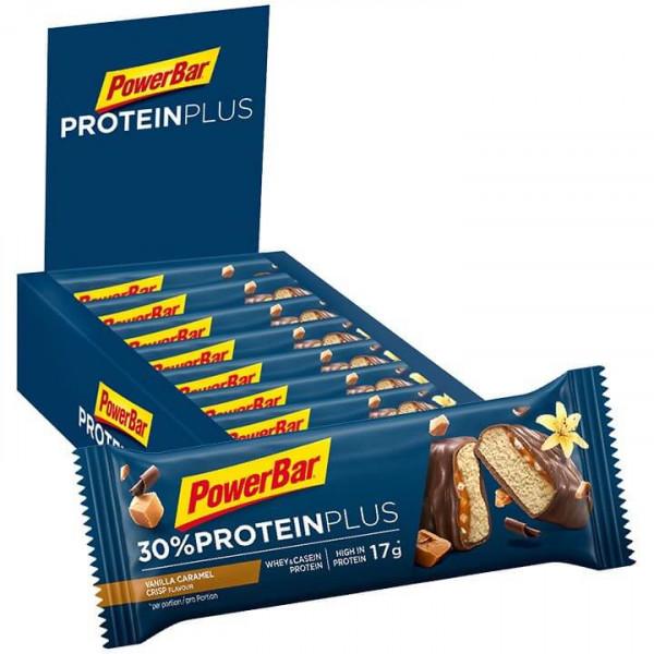 Protein Plus Riegel Caramel-Vanilla Crisp 15 Stck.