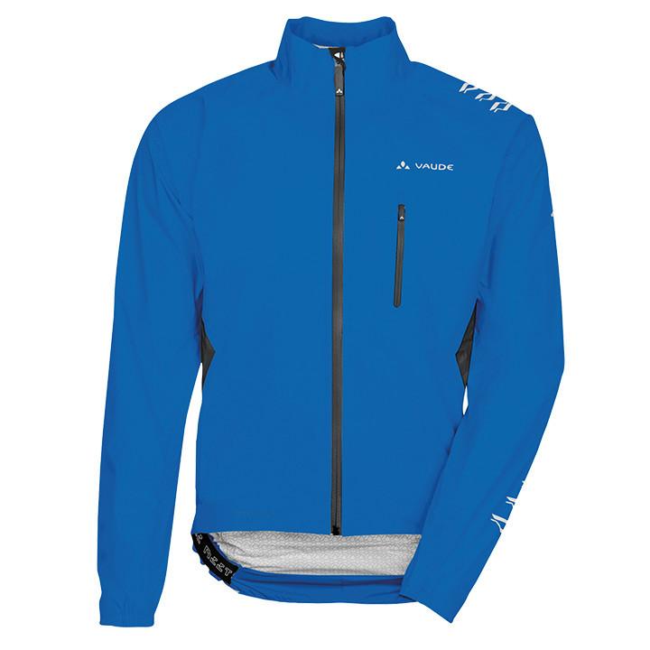 VAUDE Spray IV, blauw regenjack, voor heren, Maat M, Regenjas, Regenkleding