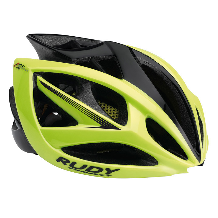 RUDY PROJECT Airstorm yellow fluo-black matte fietshelm, Unisex (dames / heren),