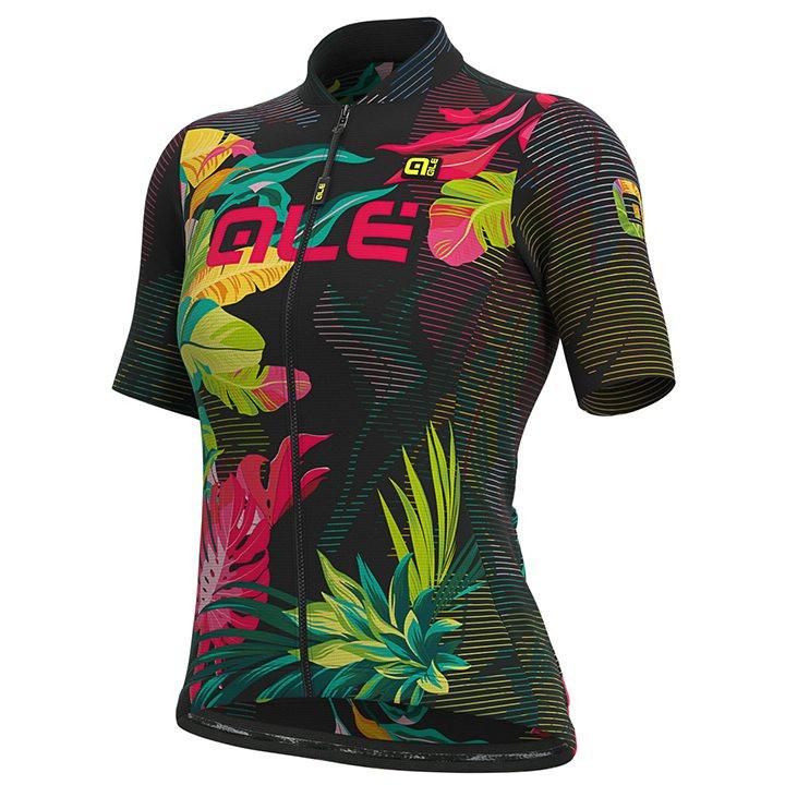 ALÉ Damesshirt Tropika damesfietsshirt, Maat S, Fietsshirt, Wielerkleding