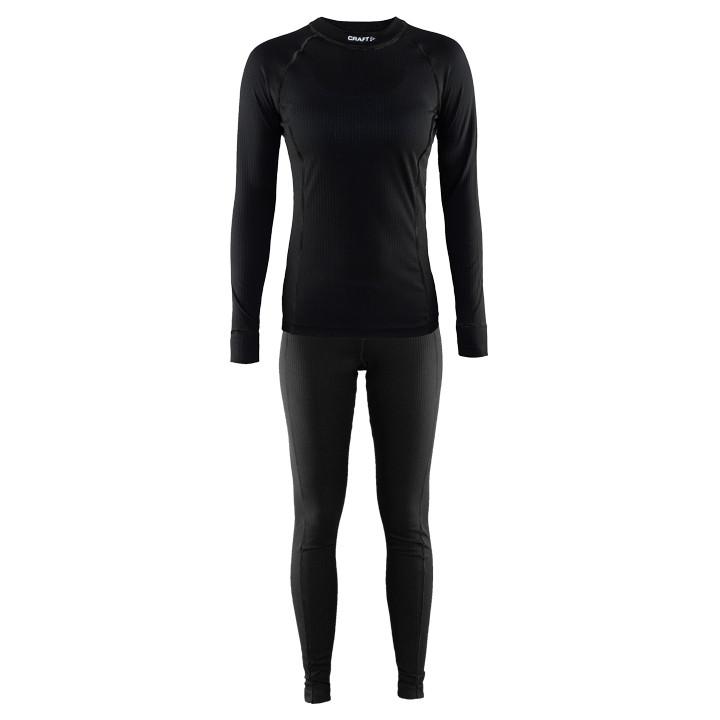 CRAFT dames ondergoed set Active Multi 2-pack zwart, Maat XL, Onderhemd, Wielerk
