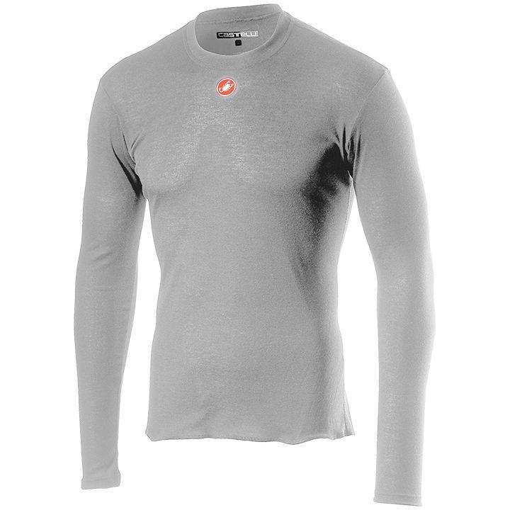 CASTELLI Fietsmet lange mouwen Prosecco onderhemd, voor heren, Maat XL, Onderhem