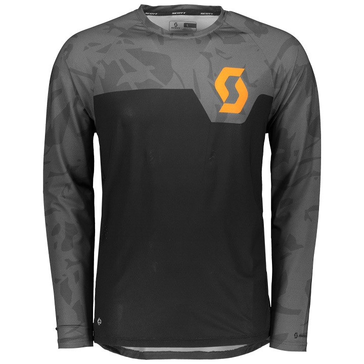 SCOTT Bikeshirt met lange mouwen Trail 20 bikeshirt, voor heren, Maat L,