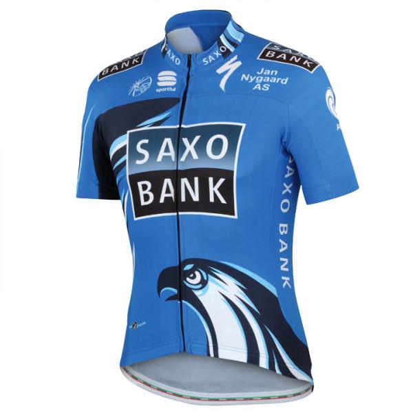Maillot manches courtes SAXO BANK 2012