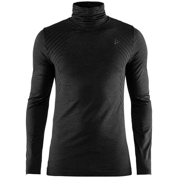 CRAFT FietsFuseknit Comfort Turtleneck onderhemd, voor heren, Maat S, Onderhemd,