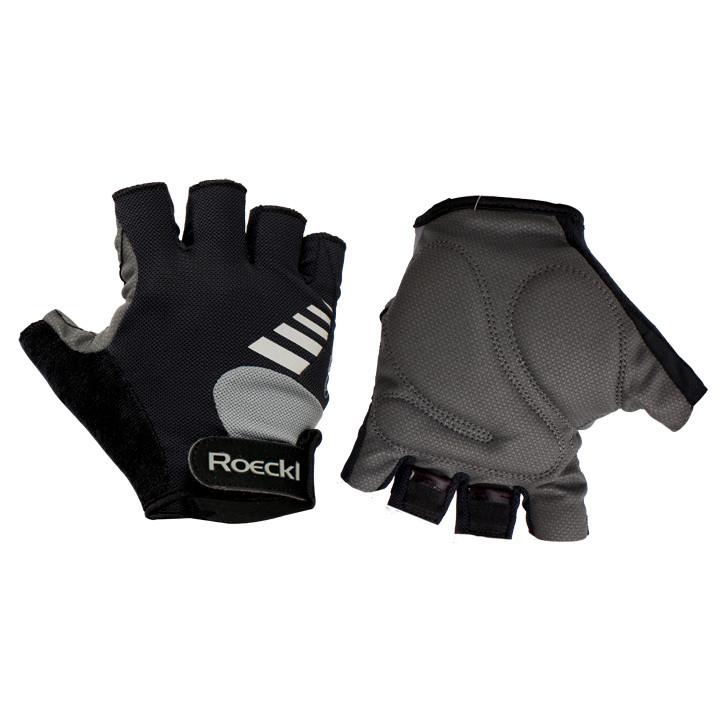 ROECKL fietsBingen zwart handschoenen, voor heren, Maat 6,5, Fiets handschoenen,