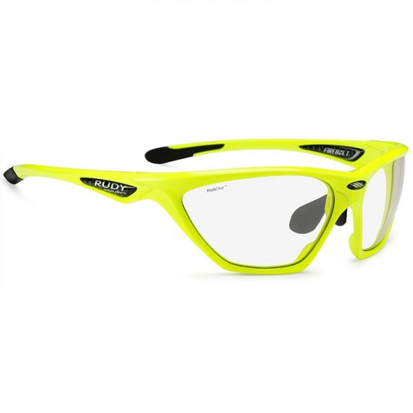Lunettes de cyclisme Firebolt yellow