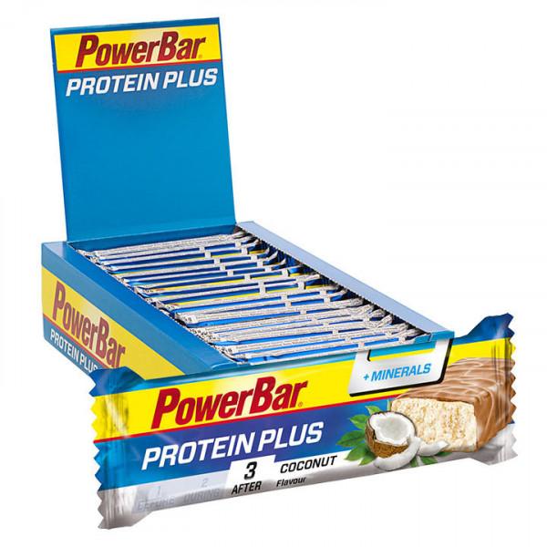 Barre Protein Plus + Minerals Noix de coco
