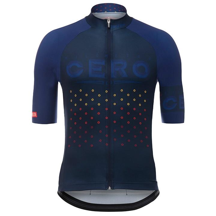 LA VUELTA Cero 2017 fietsshirt met korte mouwen, voor heren, Maat M, Fietsshirt,