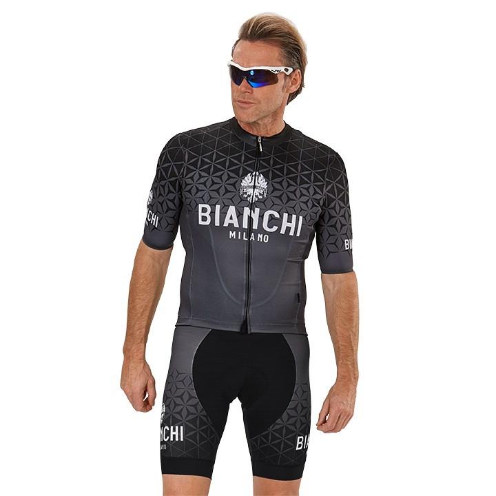 BIANCHI MILANO Conca Set (fietsshirt + fietsbroek) set (2 artikelen), voor