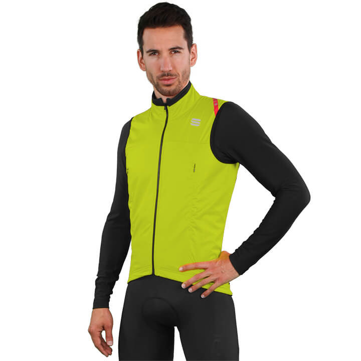 SPORTFUL Fiandre Strato Wind Light Jacket, voor heren, Maat L, Fiets jack,