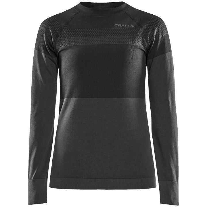 CRAFT dames fietsmet lange mouwen Warm Intensity onderhemd, Maat M, Onderhemd, W