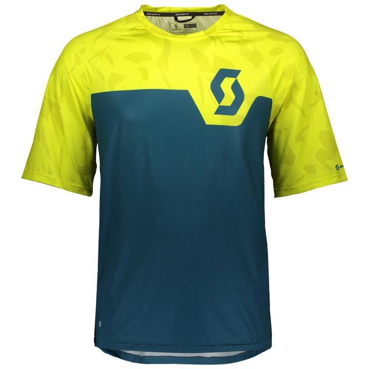 SCOTT Bikeshirt Trail 20 bikeshirt, voor heren, Maat XL, Wielershirt,