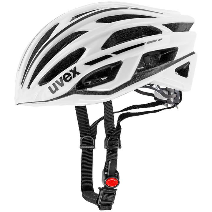 UVEX RaceRace 5 Classic fietshelm, Unisex (dames / heren), Maat L, Fietshelm, Fi