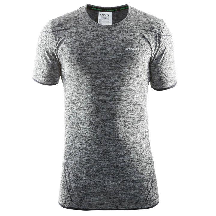 CRAFT fietsondershirt Active Comfort zwart onderhemd, voor heren, Maat M,