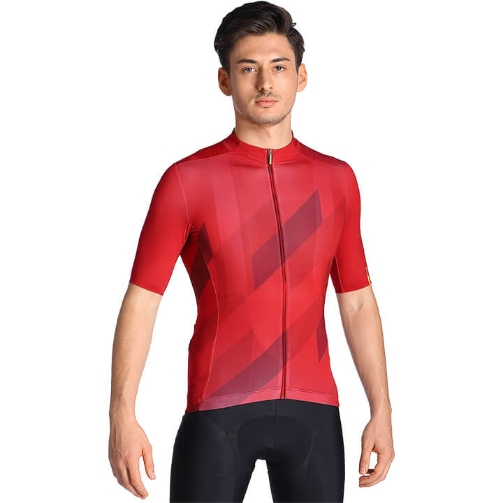 MAVIC Shirt met korte mouwen Cosmic Mosaic fietsshirt met korte mouwen, voor her