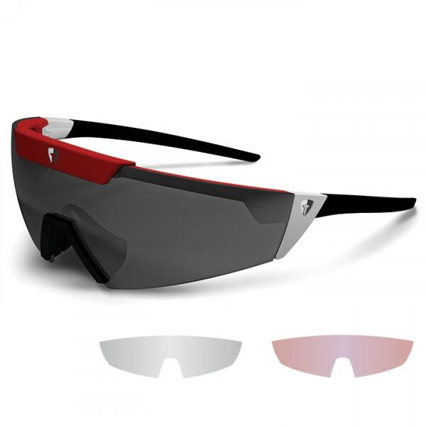 Kit de lunettes Lipari rouges-blanches-noires