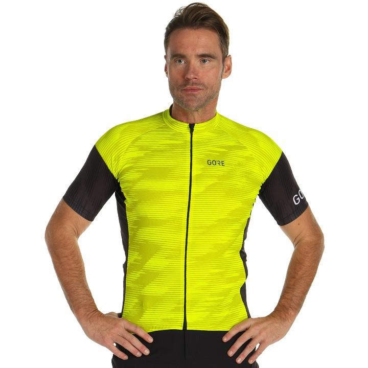 GORE Shirt met korte mouwen C3 Knit fietsshirt met korte mouwen, voor heren, Maa