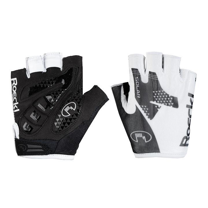 ROECKL Izeda wit-zwart handschoenen, voor heren, Maat 10,5, Fietshandschoenen, F