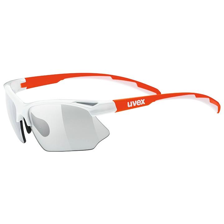 UVEX fietsbril Sportstyle 802 Vario sportbril, Unisex (dames / heren), Sportbril
