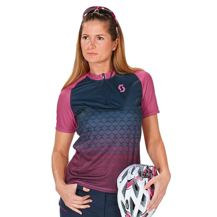 SCOTT dames Trail 10 bikeshirt, Maat S, Fietsshirt,