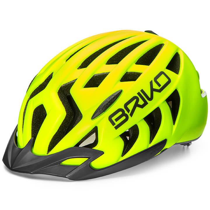 BRIKO Fietshelm Aries Sport fietshelm, Unisex (dames / heren), Maat L, Fietshelm