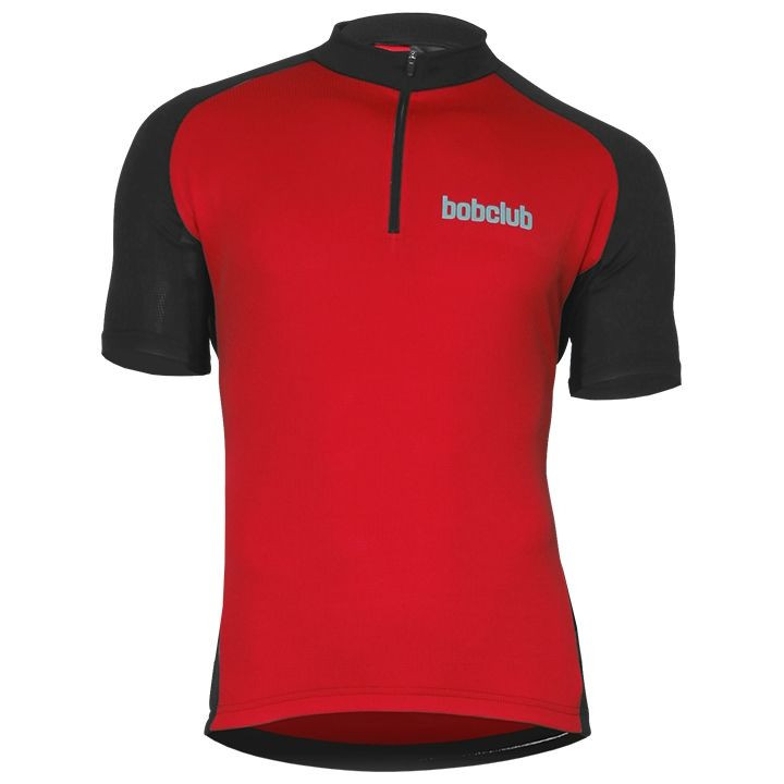Wielrenshirt, BOBCLUB shirt met korte mouwen fietsshirt met korte mouwen, voor h