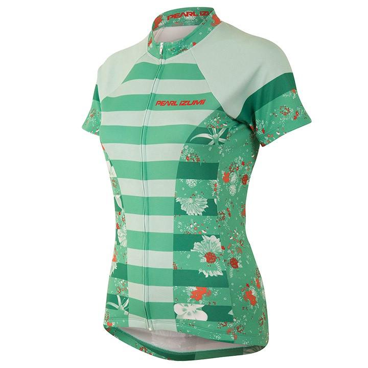 PEARL IZUMI damesshirt Select Escape LTD Muse Green damesfietsshirt, Maat M,