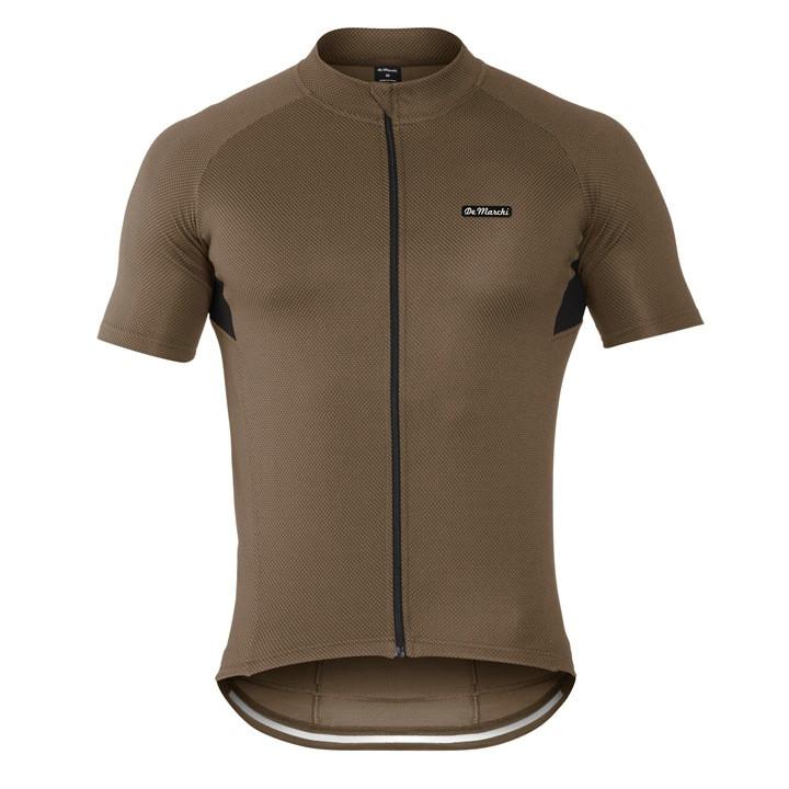 DE MARCHI shirt met korte mouwen Corsa Evo kaki fietsshirt met korte mouwen,