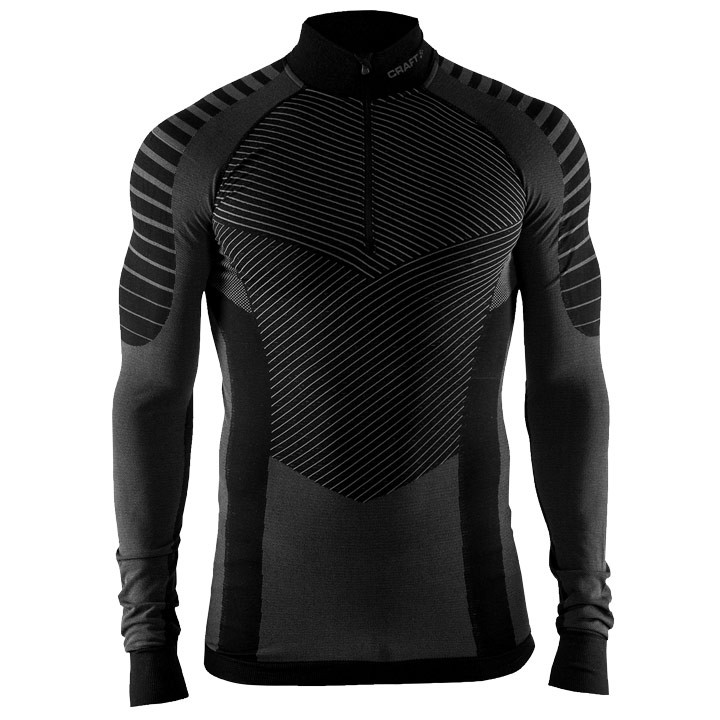 CRAFT Fietsmet lange mouwen Active Intensity Zip onderhemd, voor heren, Maat XL,