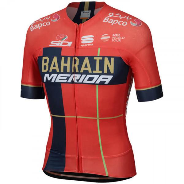BAHRAIN - MERIDA Kurzarmtrikot Pro Race 2019