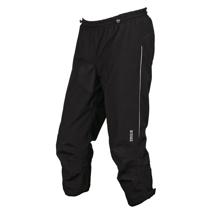 PRO-X Tyler zwart 3/4 regenbroek, voor heren, Maat XL, Fietsbroek, Regenkleding
