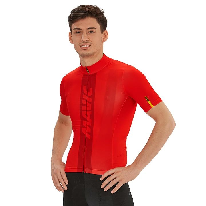 MAVIC Shirt met korte mouwen Cosmic fietsshirt met korte mouwen, voor heren, Maa
